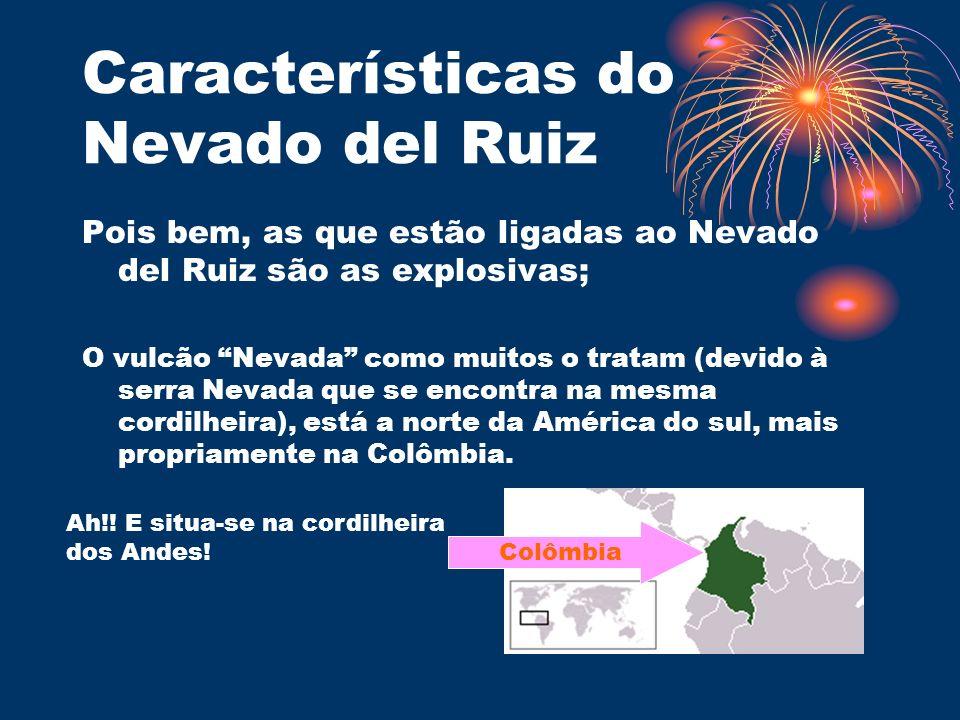 Características do Nevado del Ruiz