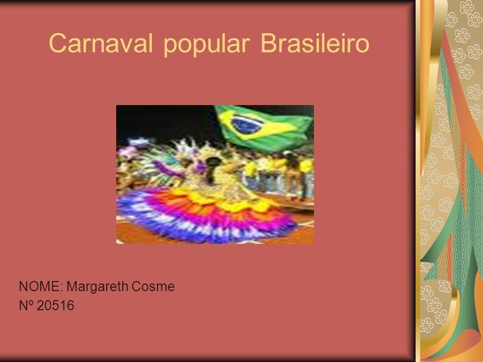 Carnaval popular Brasileiro