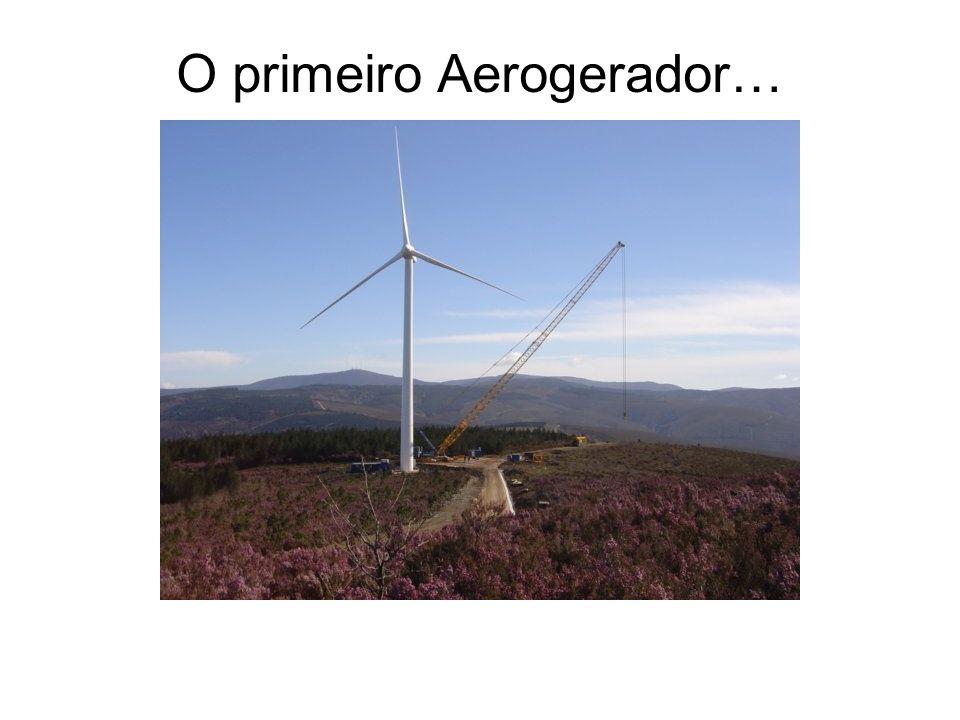 O primeiro Aerogerador…