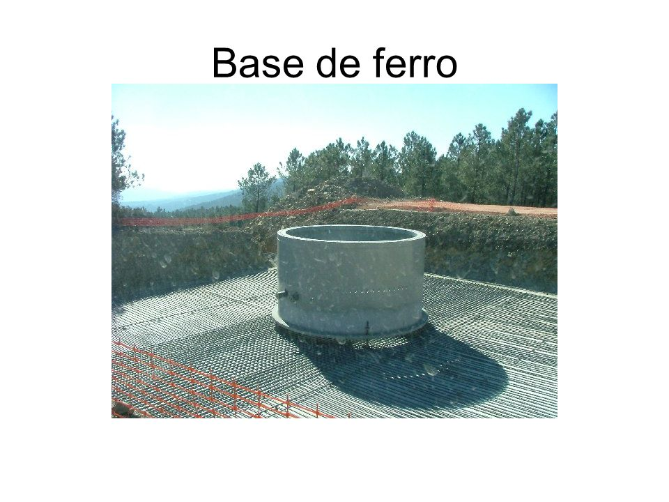 Base de ferro