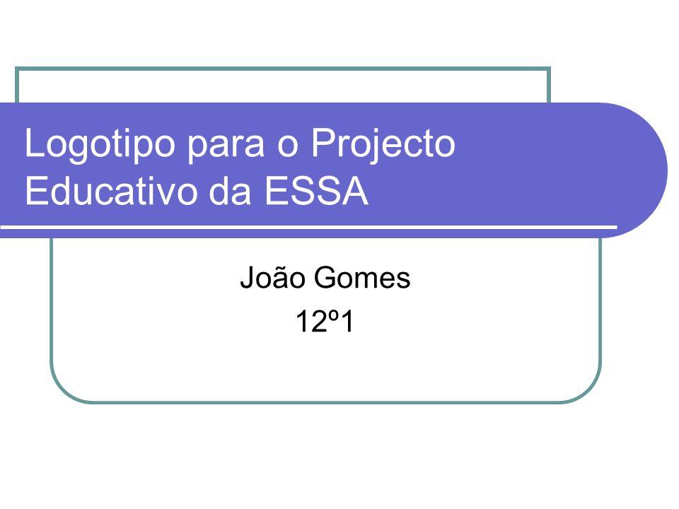 Logotipo para o Projecto Educativo da ESSA