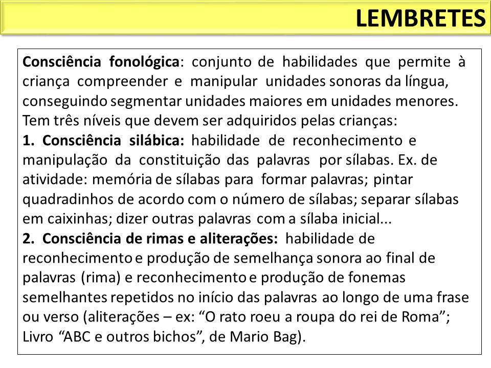 LEMBRETES