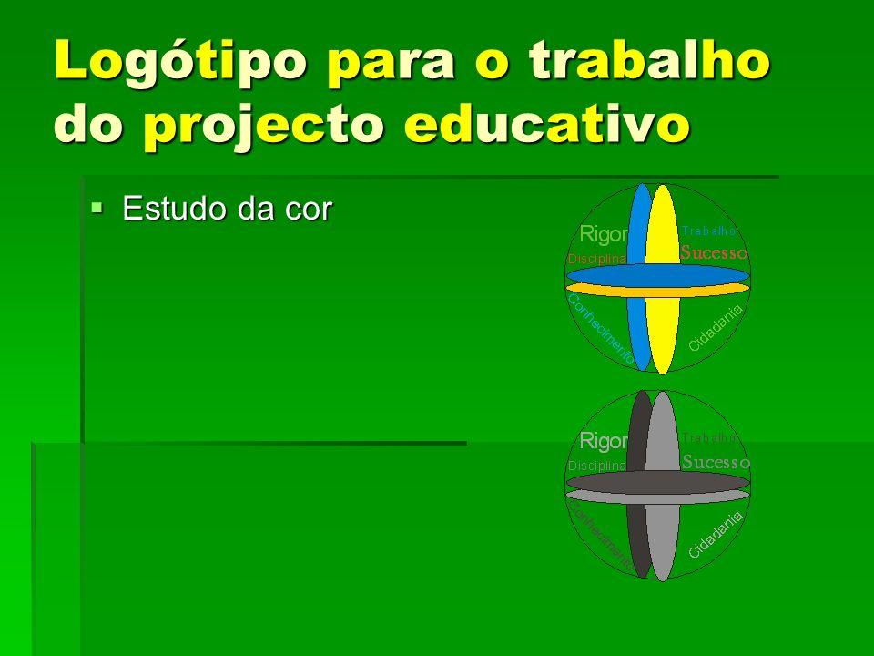 Logótipo para o trabalho do projecto educativo