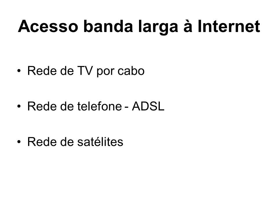 Acesso banda larga à Internet