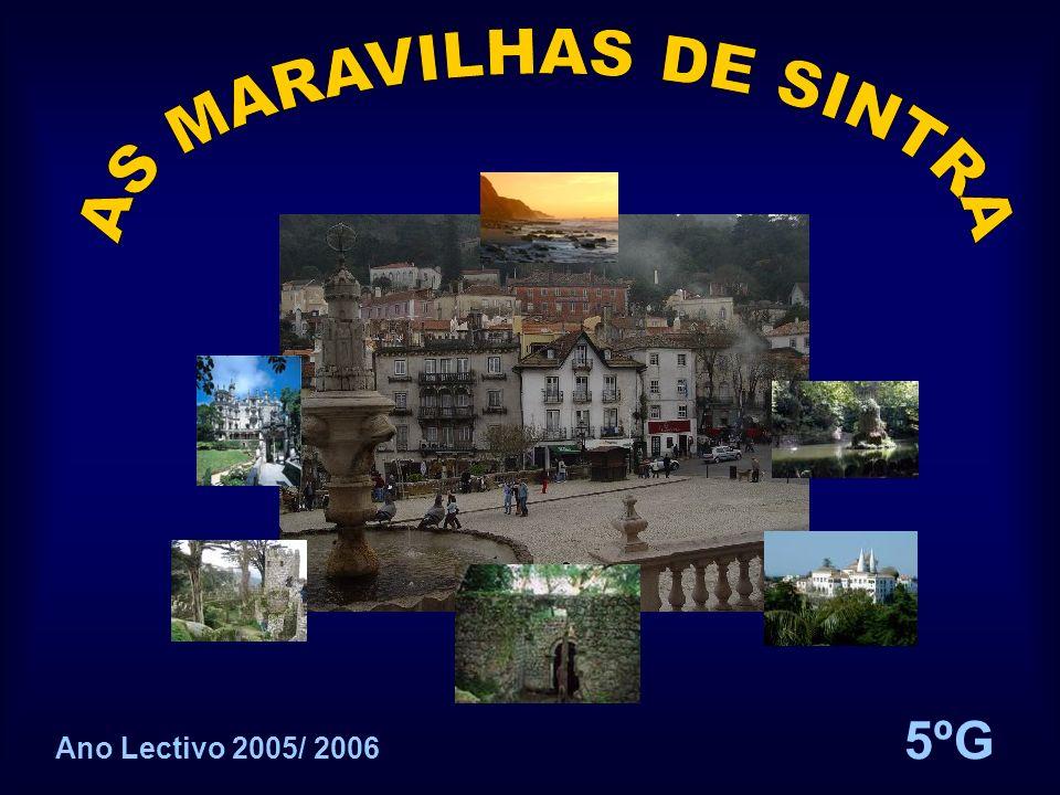 AS MARAVILHAS DE SINTRA