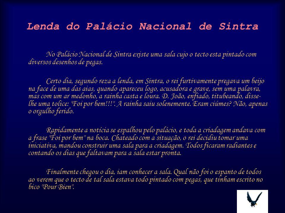 Lenda do Palácio Nacional de Sintra