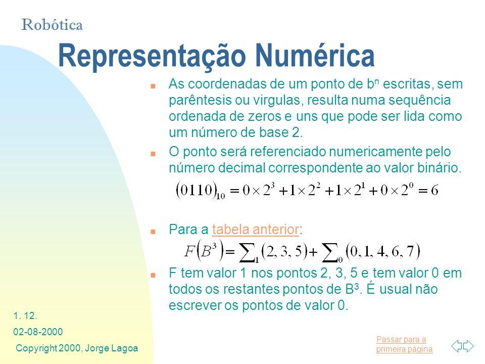 Representação Numérica