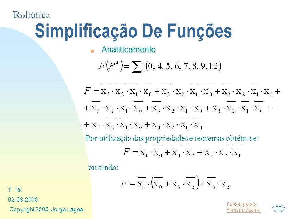 Simplificação De Funções