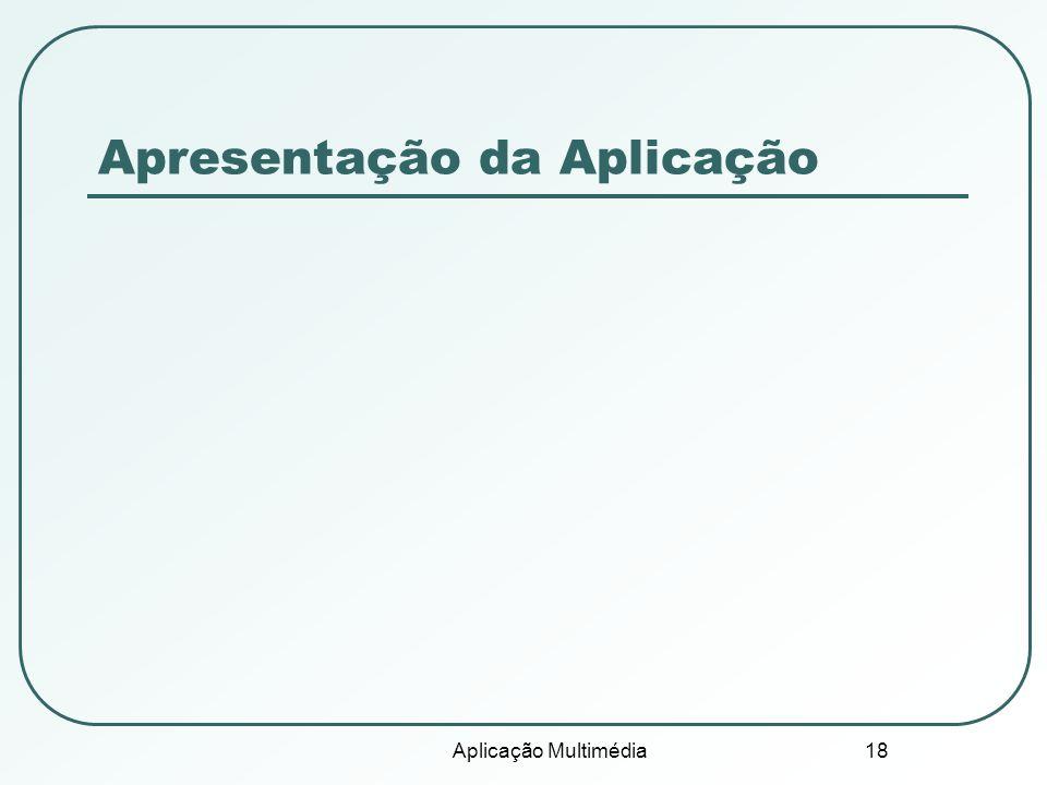 Apresentação da Aplicação