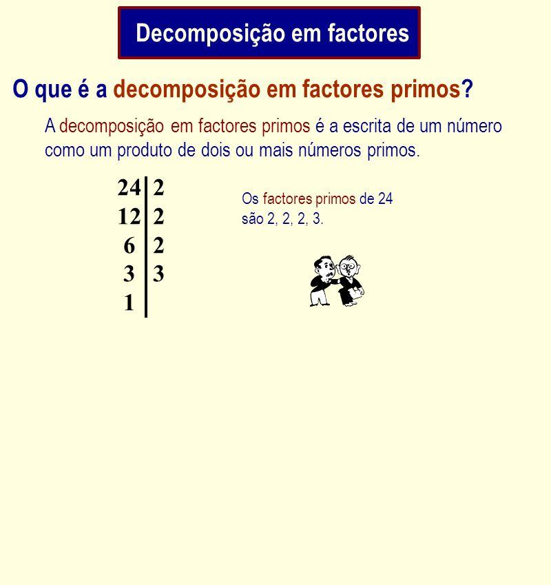 Decomposição em factores