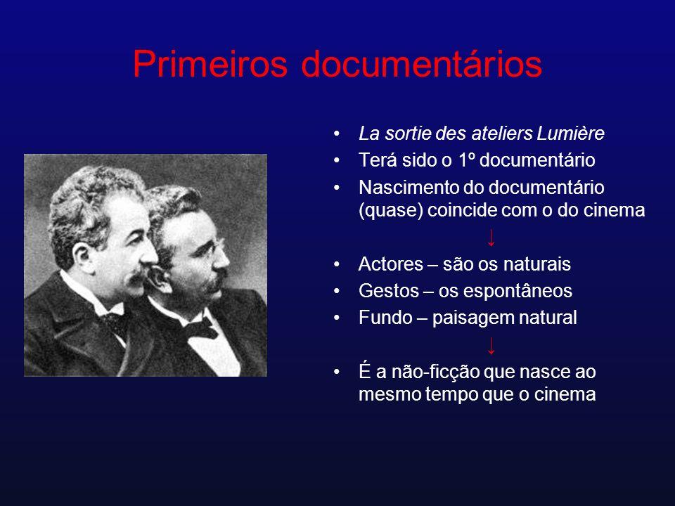 Primeiros documentários