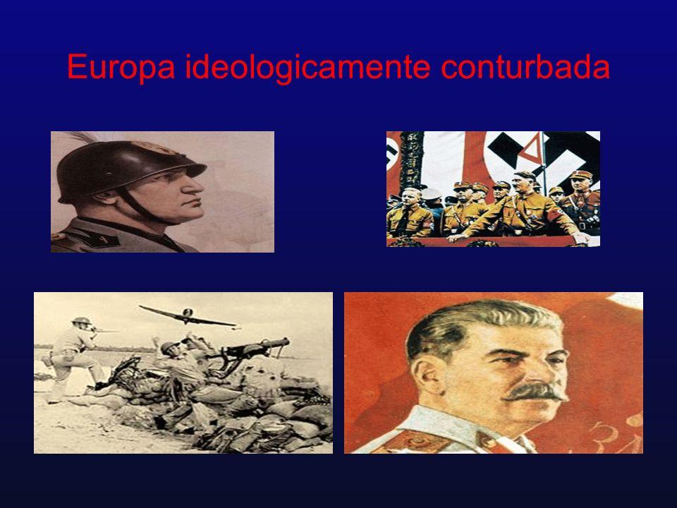 Europa ideologicamente conturbada