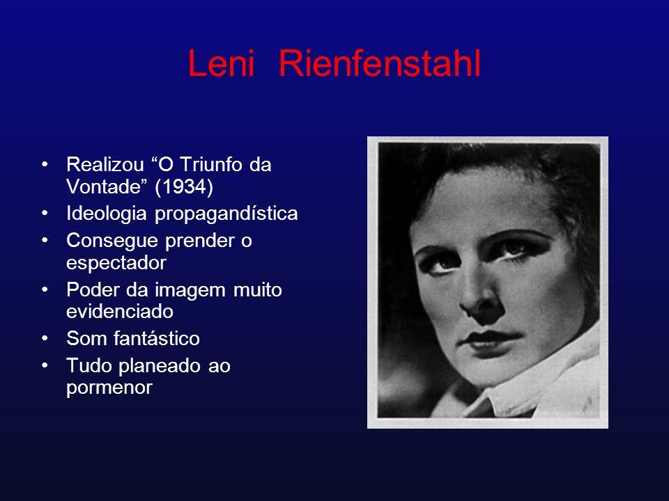 Leni Rienfenstahl Realizou O Triunfo da Vontade (1934)