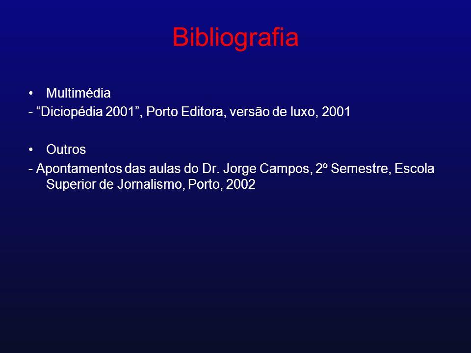 Bibliografia Multimédia