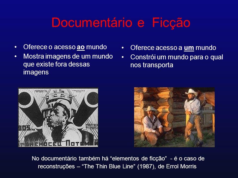 Documentário e Ficção Oferece o acesso ao mundo