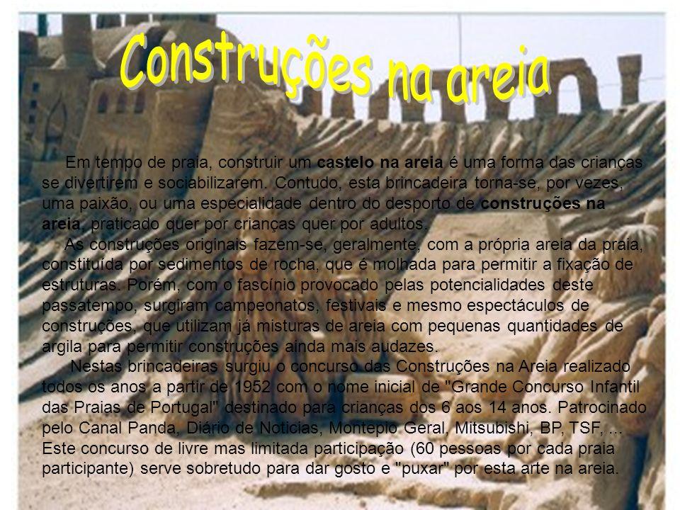 Construções na areia