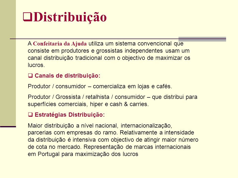 Distribuição