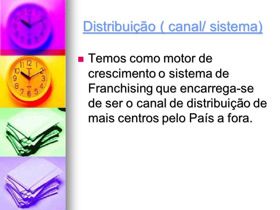 Distribuição ( canal/ sistema)