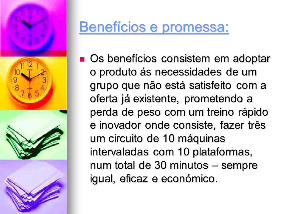 Benefícios e promessa: