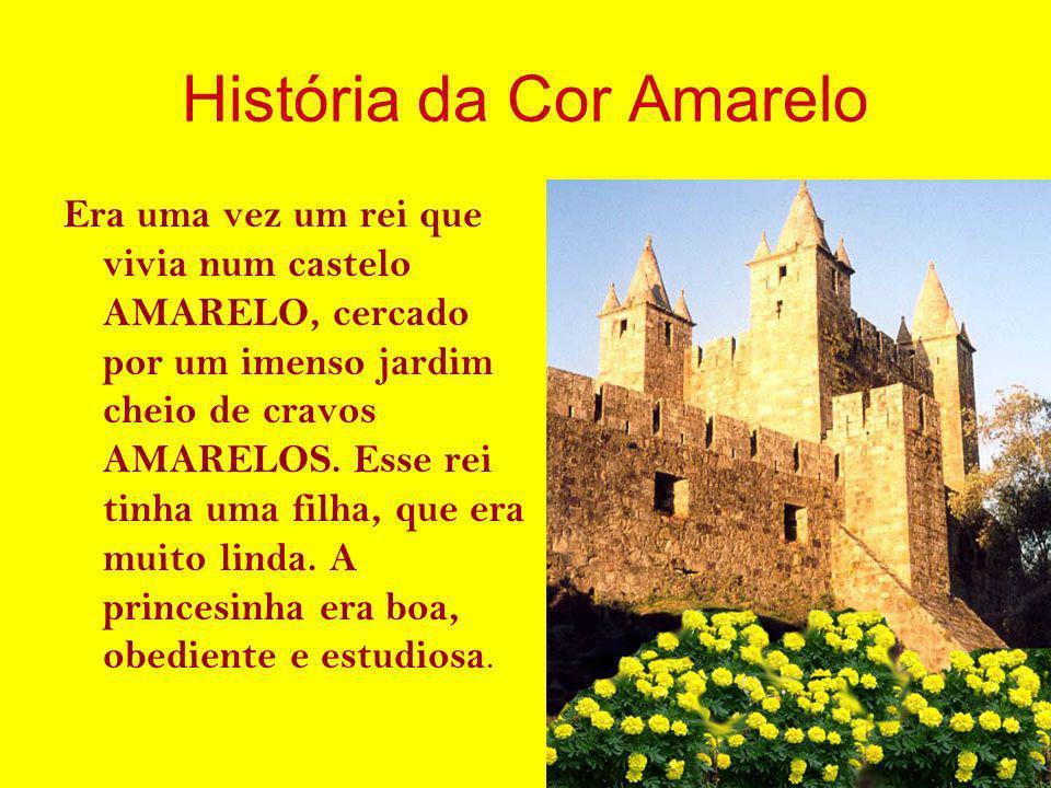 História da Cor Amarelo