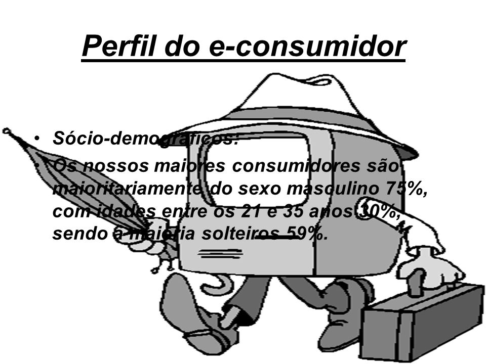 Perfil do e-consumidor