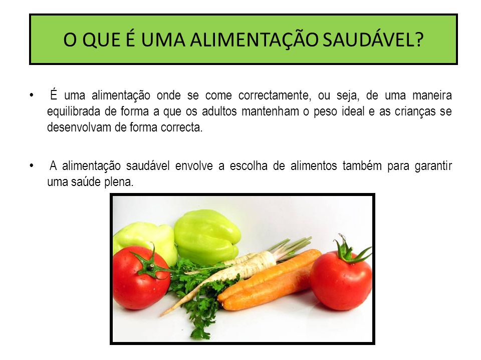 Alimenta o saud vel ppt video online carregar for O que e portador