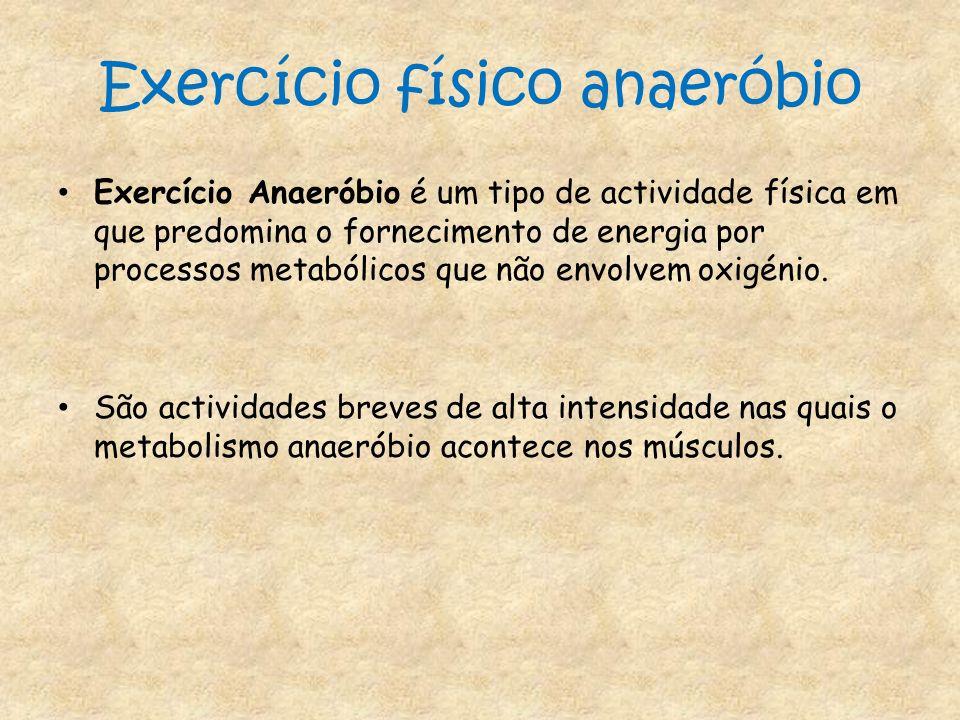 Exercício físico anaeróbio