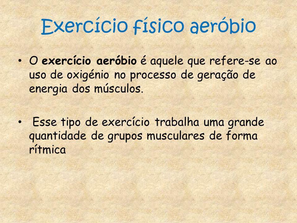Exercício físico aeróbio