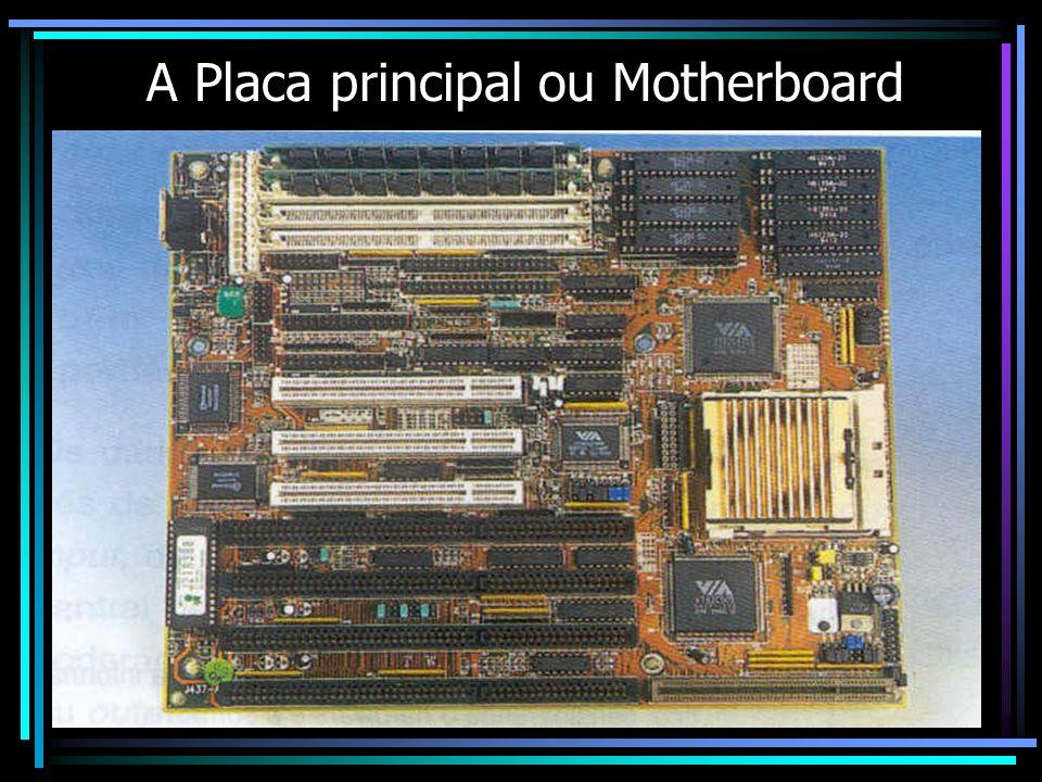 A Placa principal ou Motherboard