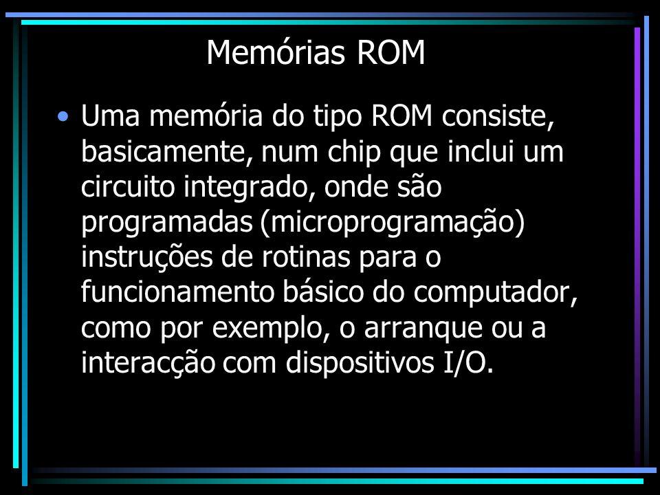 Memórias ROM
