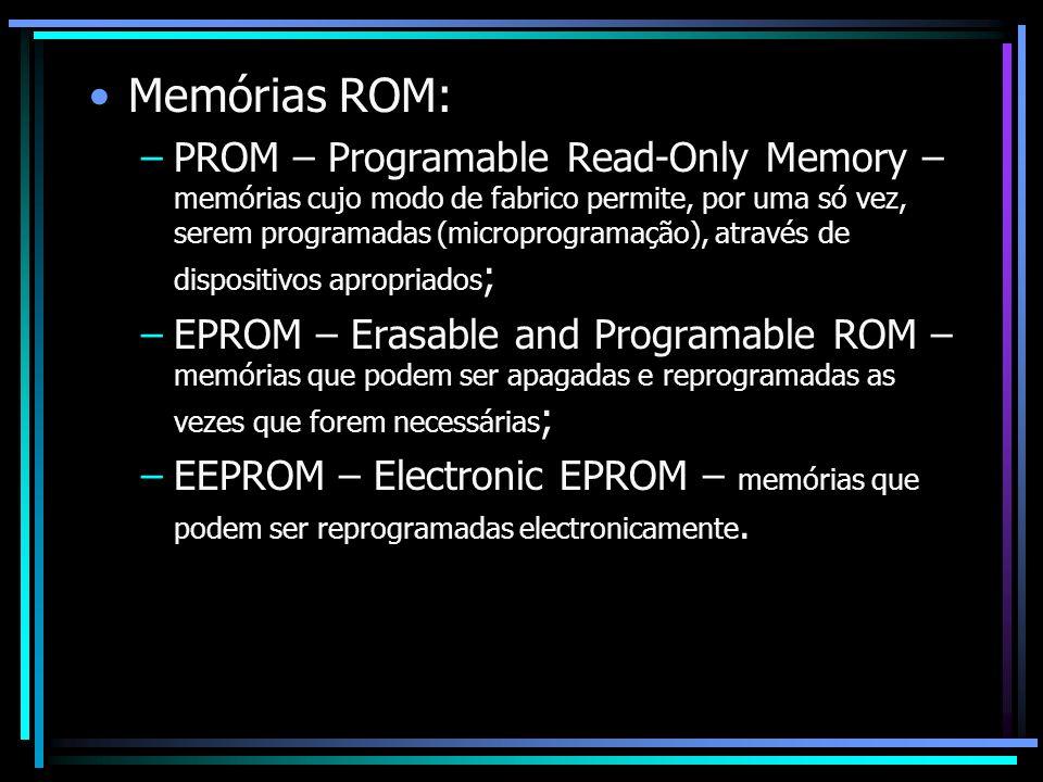 Memórias ROM:
