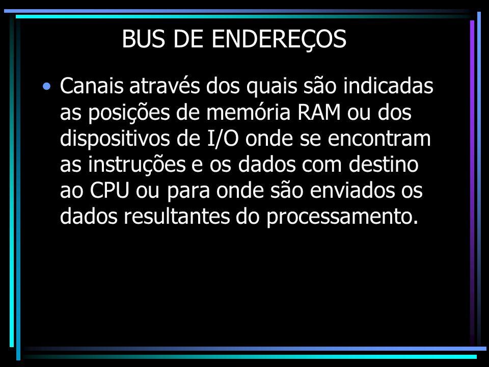 BUS DE ENDEREÇOS