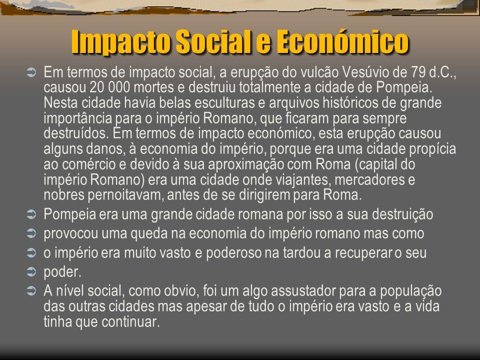 Impacto Social e Económico