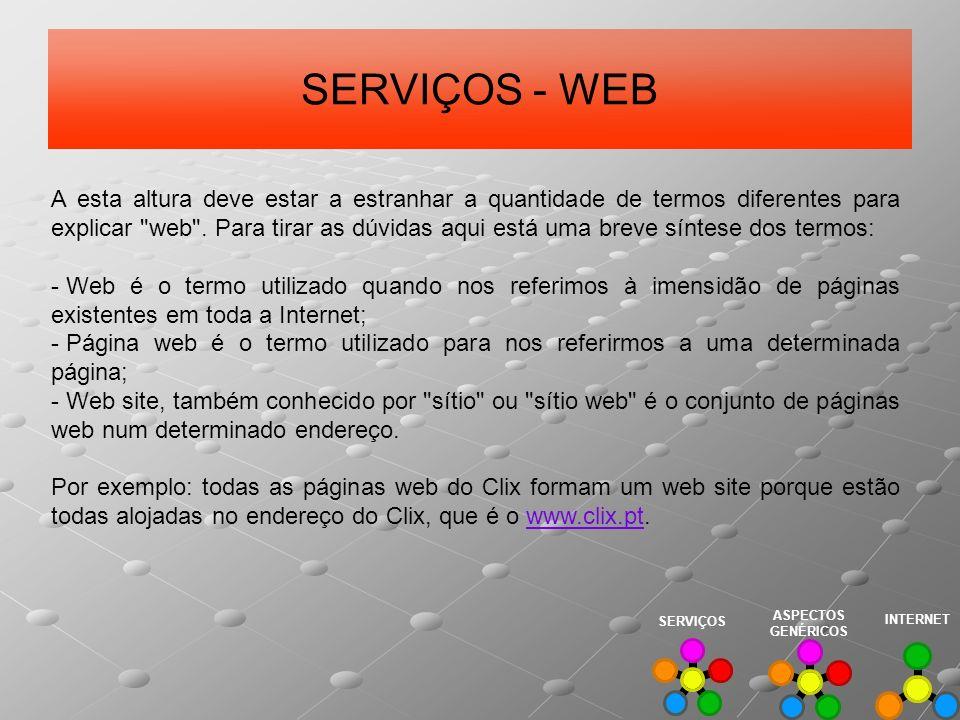 SERVIÇOS - WEB
