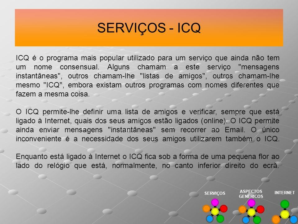 SERVIÇOS - ICQ