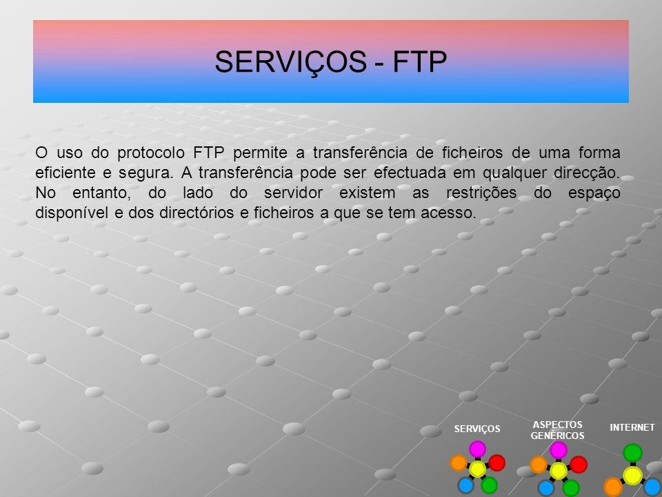 SERVIÇOS - FTP