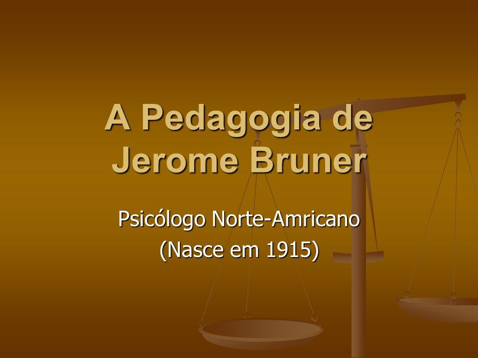 A Pedagogia de Jerome Bruner