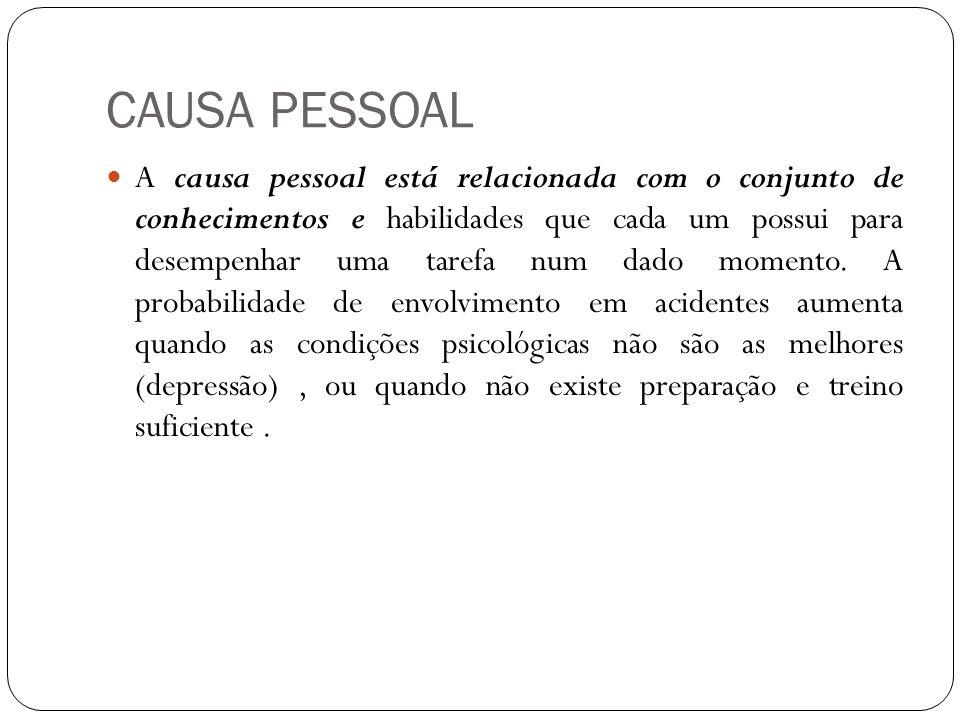 CAUSA PESSOAL