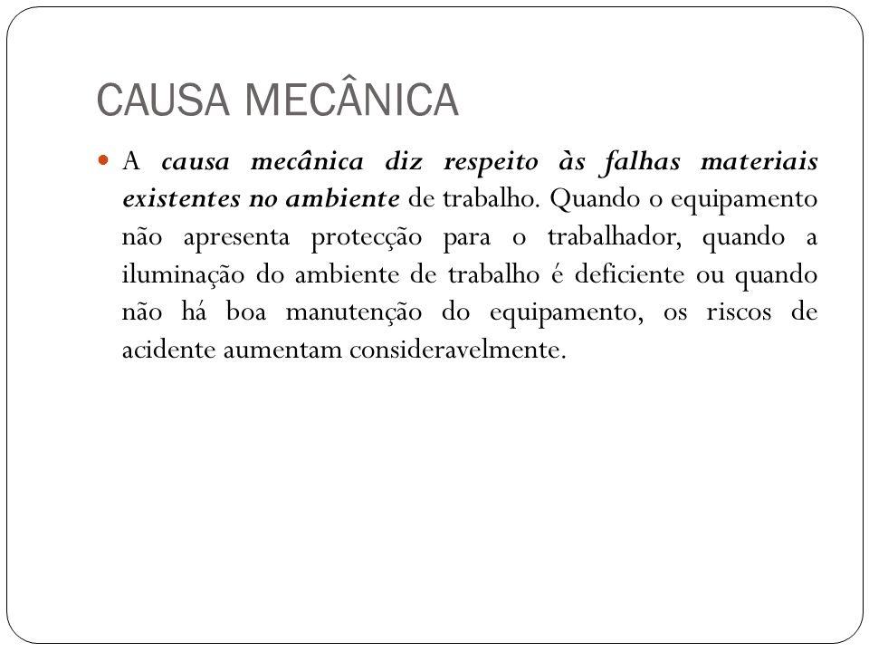 CAUSA MECÂNICA
