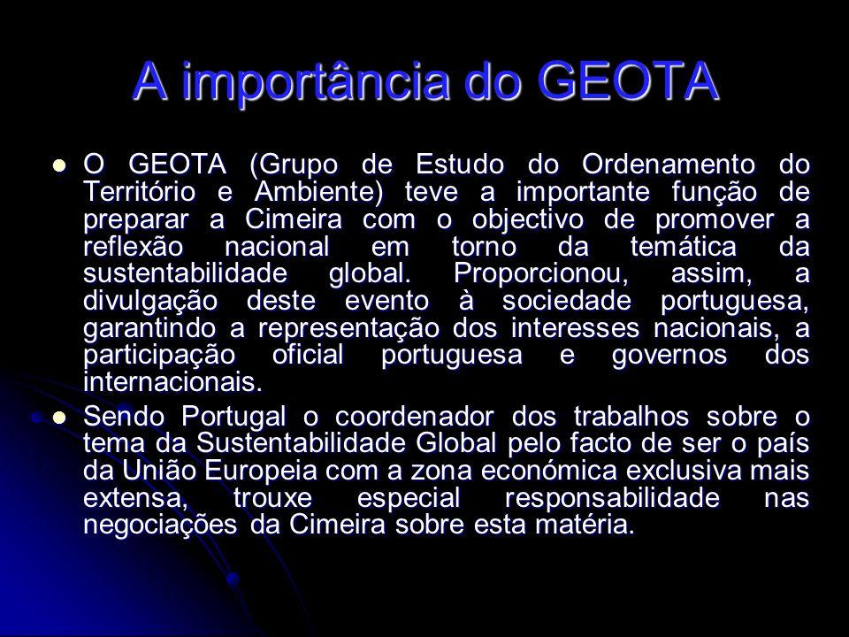 A importância do GEOTA