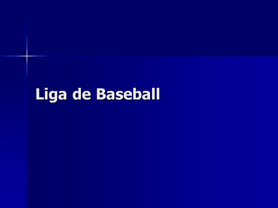 Liga de Baseball