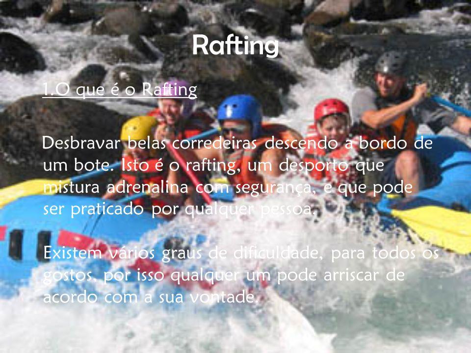 Rafting 1.O que é o Rafting