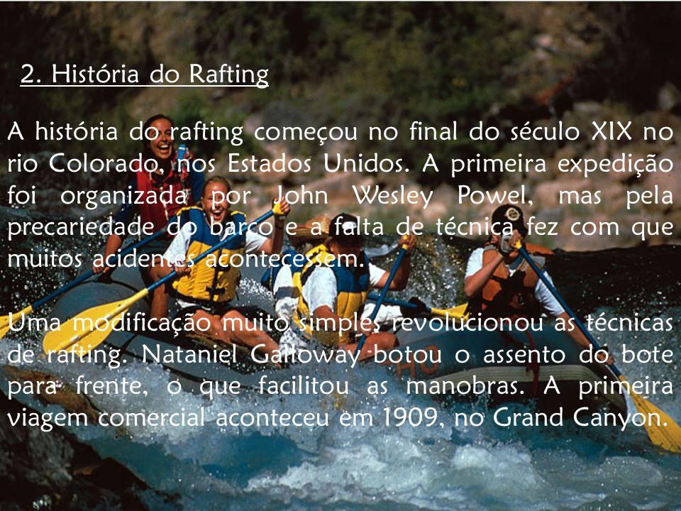 2. História do Rafting