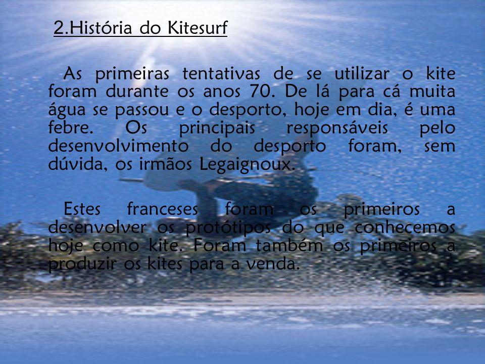 2.História do Kitesurf