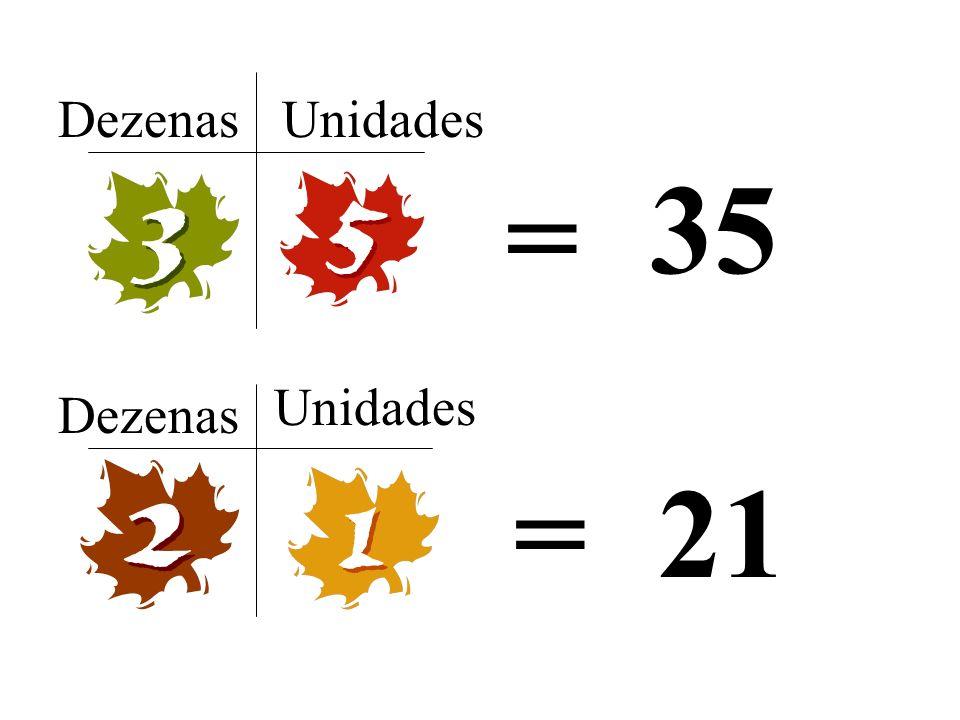 Dezenas Unidades 35 = Unidades Dezenas = 21