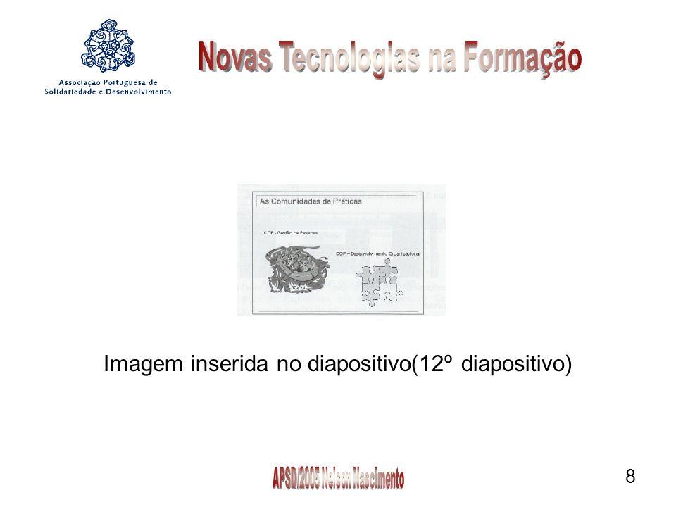 Imagem inserida no diapositivo(12º diapositivo)