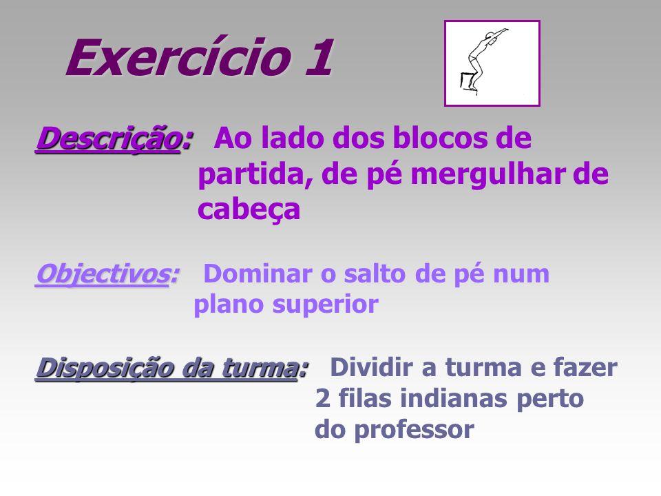 Exercício 1 Descrição: Ao lado dos blocos de