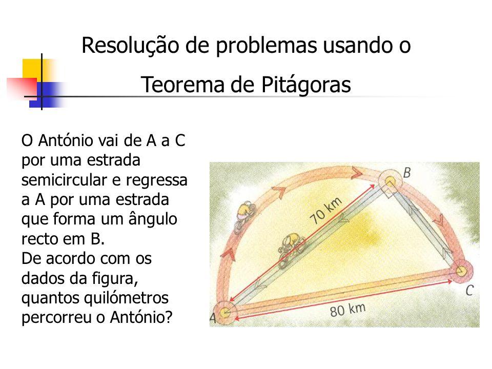 Resolução de problemas usando o