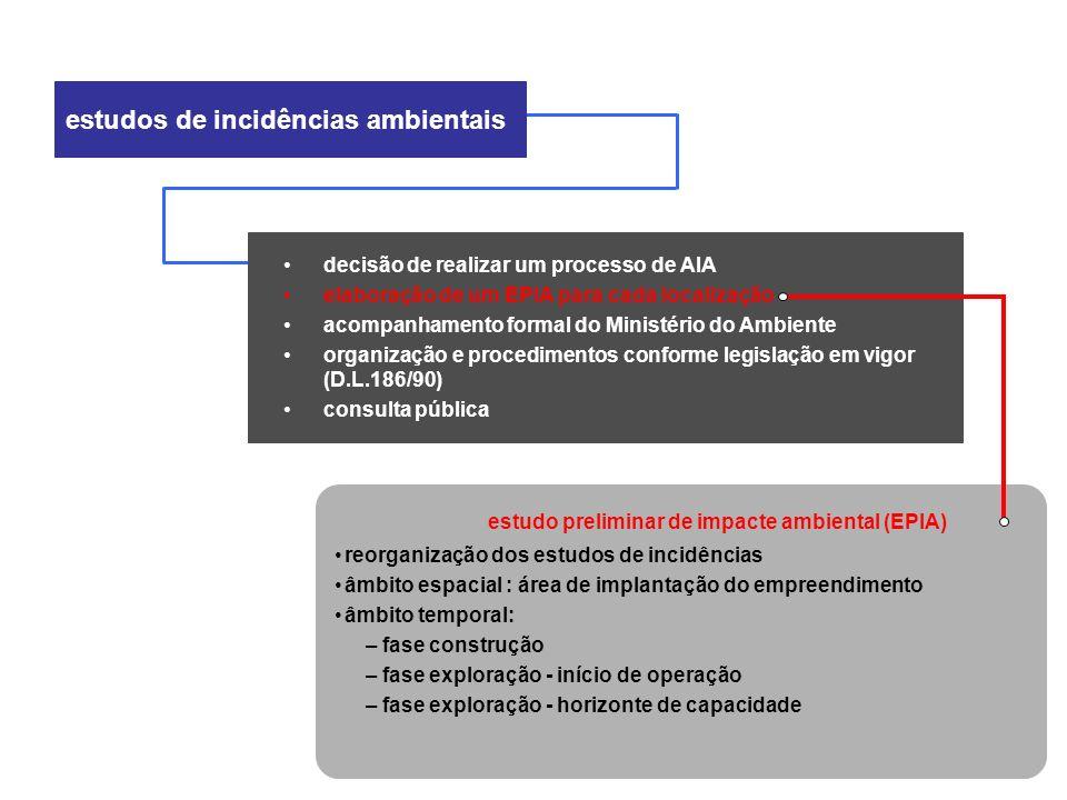 estudo preliminar de impacte ambiental (EPIA)