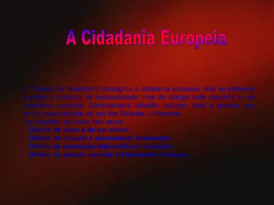 A Cidadania Europeia